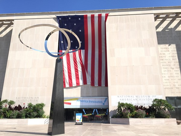 Picture of Museum of American History -  Entrance to the Smithsonian Museum of American History