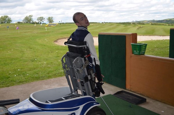 Picture of Mearns Castle Golf Academy - Golfing with paragolfer