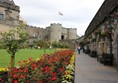 Stirling Castle and the gardens