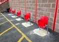 Spaces for Wheelchairs - St Marys Road End