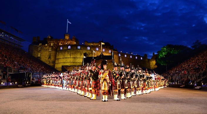 Royal Military Tattoo at Edinburgh Castle