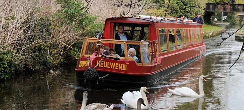 Canal Boat trips in Welshpool from Heulwen Trust