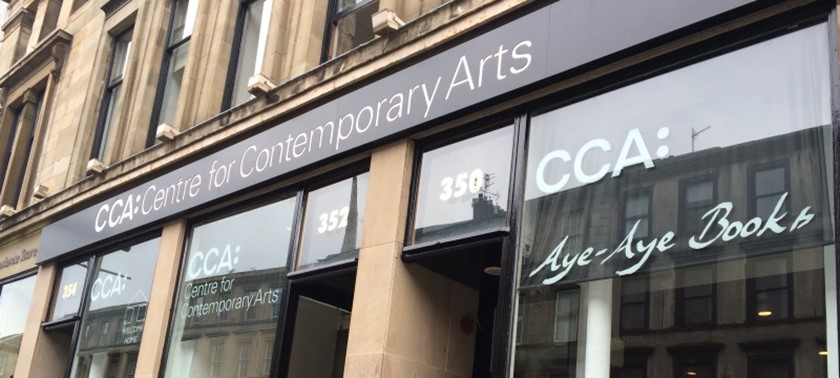 CCA: Centre for Contemporary Arts & Saramago Cafe Bar