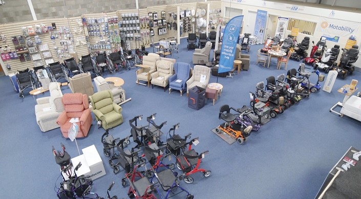 Allardyce Mobility Showroom