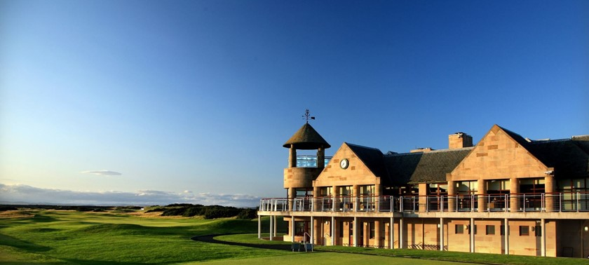 St Andrews Links Clubhouse