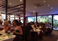 Photo of diners in the restaurant.