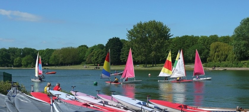 Fairlands Valley Sailing Centre
