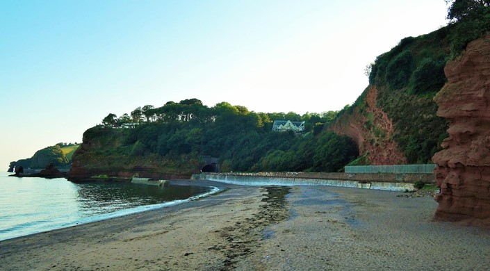 Dawlish Sea Wall Walk - Dawlish to Coryton Cove