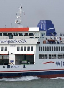 Wightlink Ferry Port