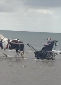 Pony Axe S at West Sands Beach