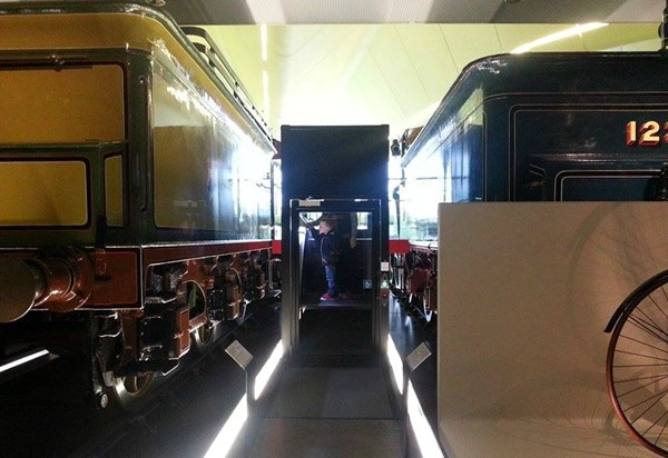 Picture of The Riverside Museum - Wheelchair accessible lift to take you up to view the trains