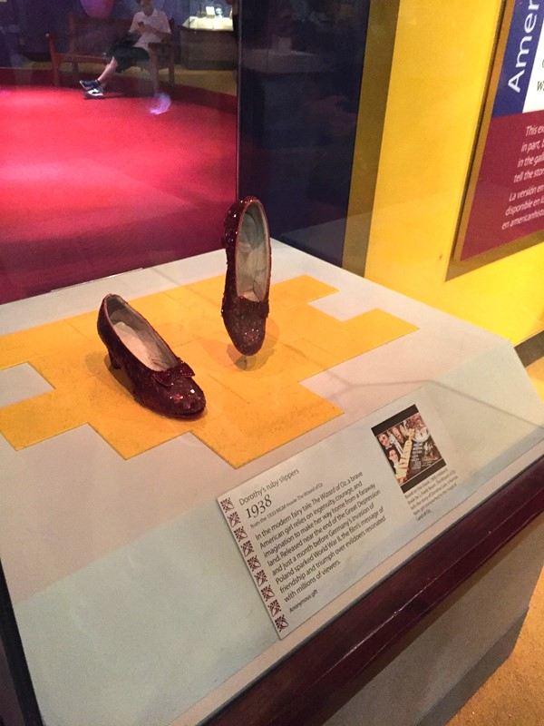 Picture of Museum of American History -  Dorothy's Red Shoes
