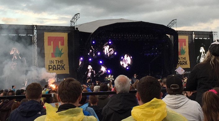T in the Park at Strathallan Castle