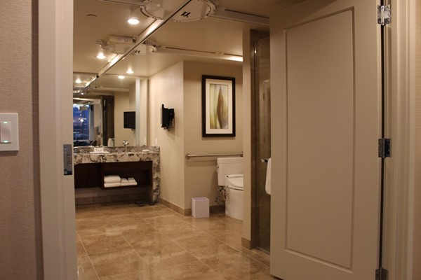 Picture of Aria Resort and Casino - Bathroom Entrance