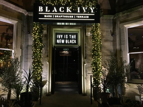 Black Ivy Bar And Restaurant With Disabled Access