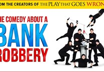 A Comedy About A Bank Robbery - Audio Described & Signed