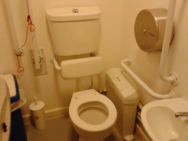 1st floor toilet