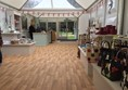 Picture of Holkham Hall, inside the temporary gift shop