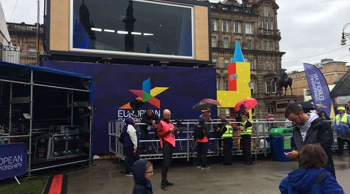 Glasgow 2018 European Championships at George Square
