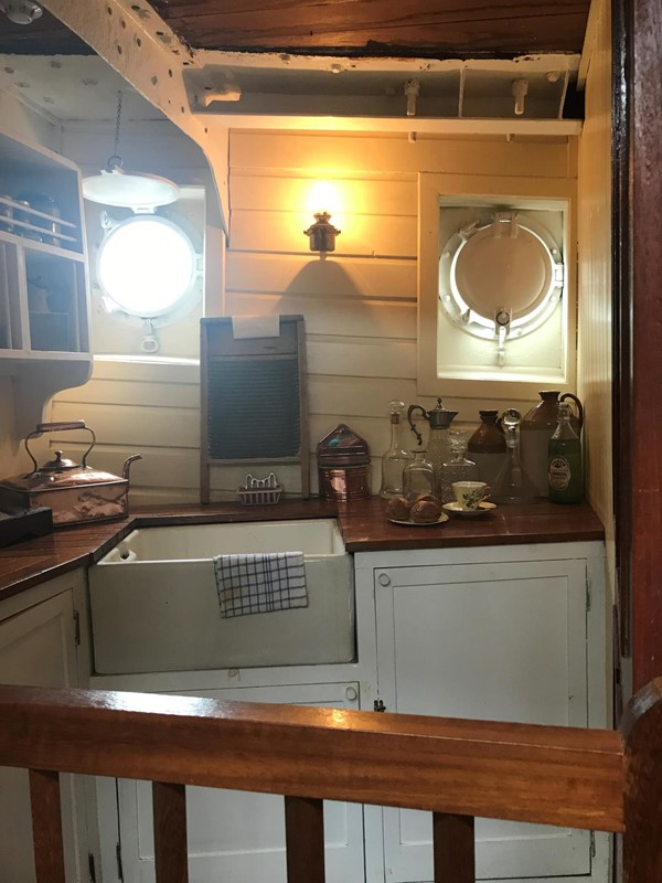 Ship's Gally  or kitchen