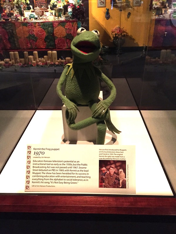 Picture of Museum of American History -  Kermit the Frog