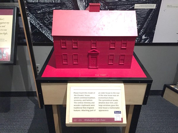Picture of Museum of American History -  Tactile house at the Smithsonian Museum