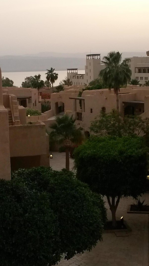 The apartments at the Dead Sea Resort Hotel