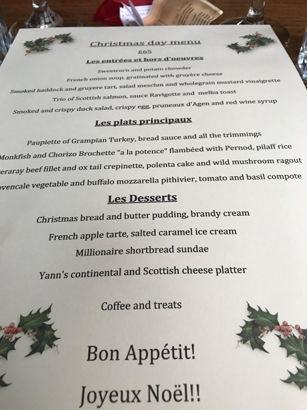 Picture of Yann's Menu