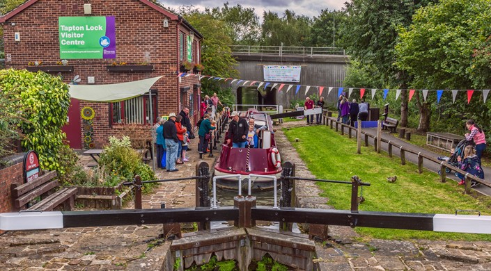 Tapton Lock Visitor Centre