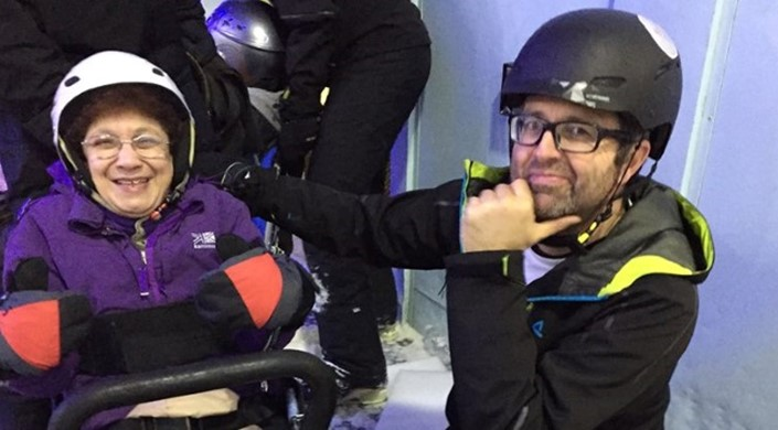 Disability Snowsport UK Chill Factore