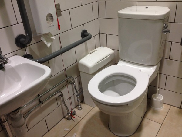 A five-star accessible toilet