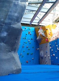 The Lock Climbing Wall