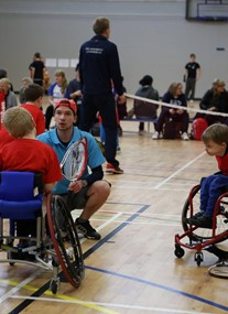 Advantage - Edinburgh's Disability Tennis Programme