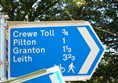 Picture of The Telford Path and the Ferry Road Path - Signs