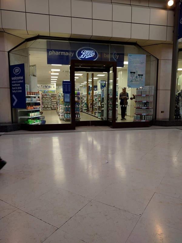 Picture of Boots Gloucester Road - The morre accessible of the two entrances