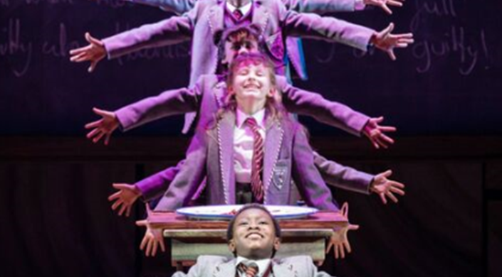 Captioned performance of 'Matilda The Musical'