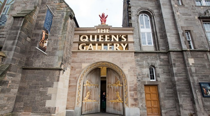 The Queen's Gallery - Palace of Holyroodhouse