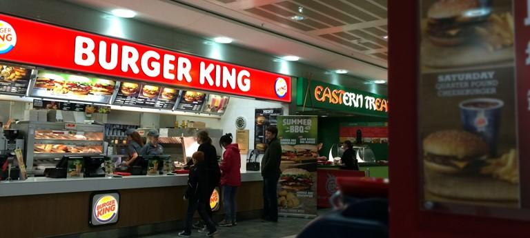 Restaurants Italian Near Me: Burger King, Buchanan Galleries