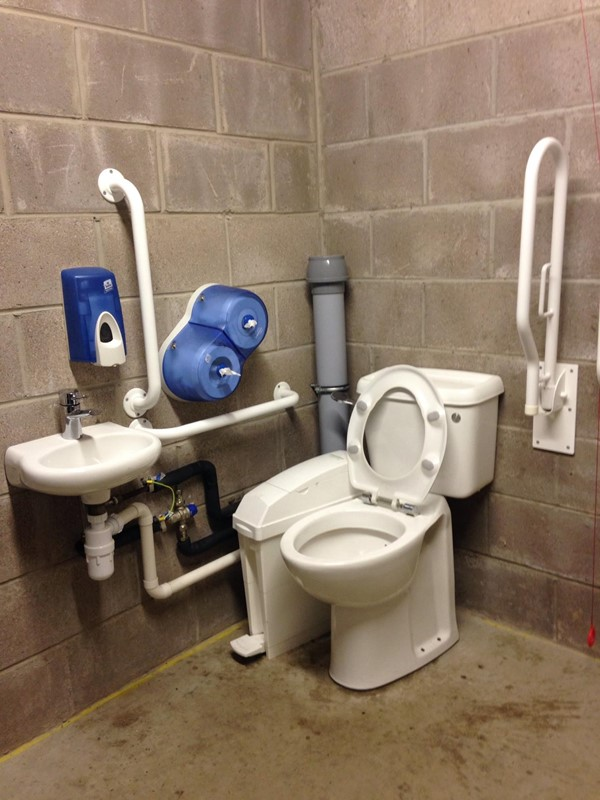 Picture of Falkirk Stadium - Accessible Toilet