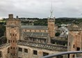 View from the top of Linlithgow Palace.