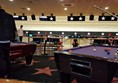 Bowling lanes and pool tables