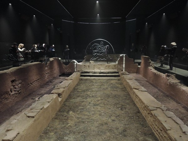 Remains of the Temple of Mithras