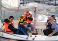 Picture of Belfast Lough Sailability - My three sons aboard one of the Hawks