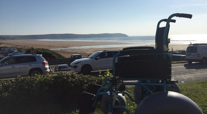 Woolacombe Beach - Beach Wheelchair and All Terrain Mobility Scooter