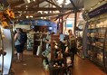 Photo of the Seabird Centre gift shop.