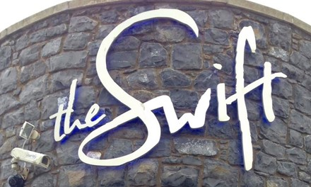 The Swift at Carrickfergus Harbour