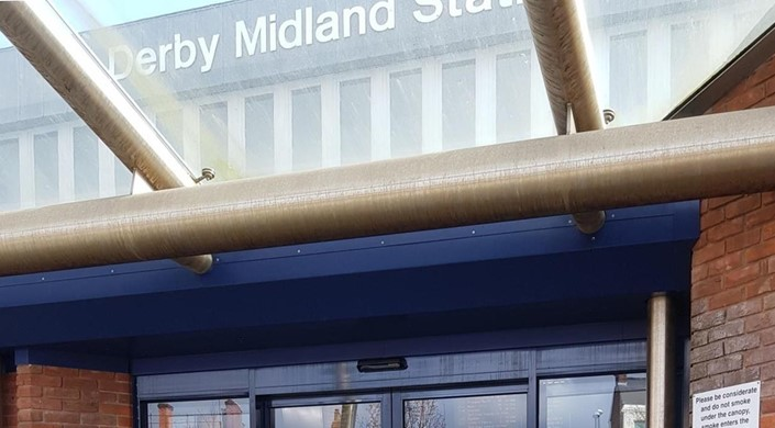 Derby Midland Railway Station