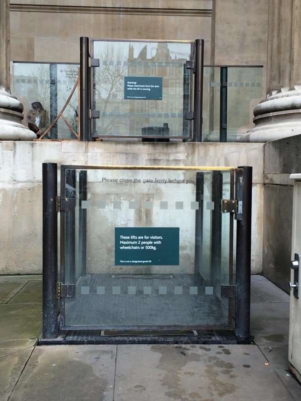 Picture of British Museum - Lift