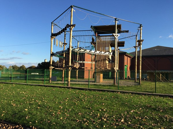 Picture of Stanley Park  - High wire activity centre