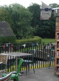 Rowntree Park Reading Cafe